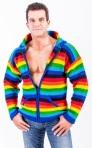 rainbow hoodie bovenlichaam