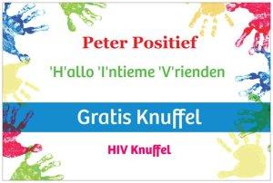 Gratis HIV knuffel bord