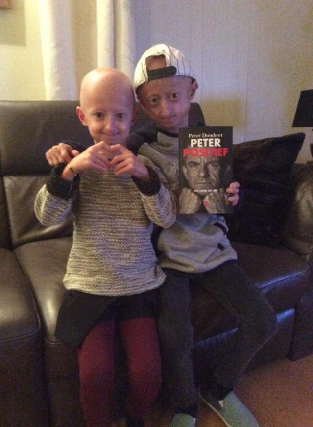 Michiel en Amber boek peter positief